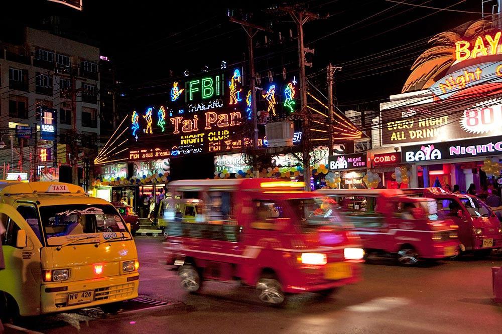 bangla road nightlife in phuket. Black Bedroom Furniture Sets. Home Design Ideas