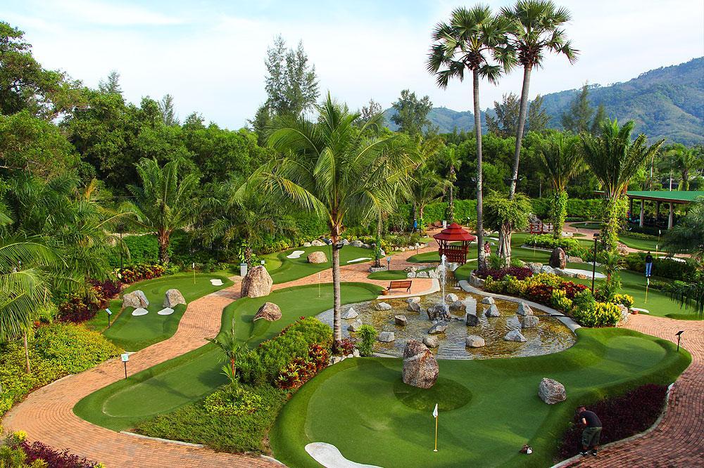 Tropical Island Minigolf